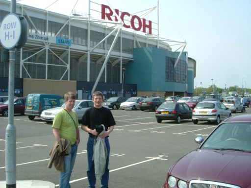 Ricoh Stadium, Coventry
